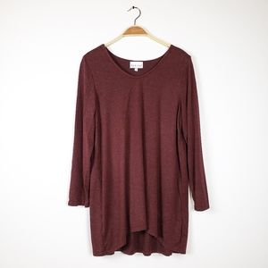 Habitat Clothes to live in • Maroon long sleeve